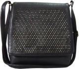 Kion Style Women Black Leatherette Sling...