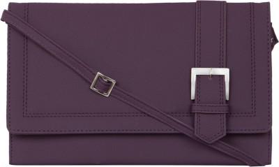 MTE Girls Casual Purple PU Sling Bag