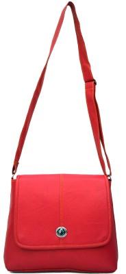inkdice Women, Girls Pink PU Sling Bag