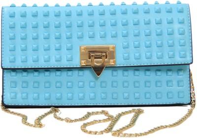 Ruff Girls, Women Blue PU Sling Bag