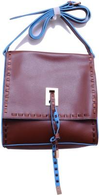 Monett Women Brown PU Sling Bag