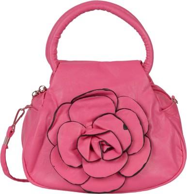 Prettyvogue Girls Pink PU Sling Bag