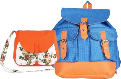 Vogue Tree Women Orange Canvas Sling Bag