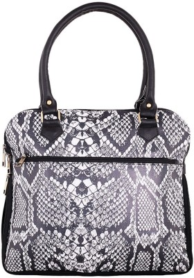 The G Street Women Grey Leatherette Tote