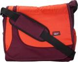 Comfy Men Purple, Orange Nylon Sling Bag