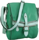 Phive Rivers Women Green Genuine Leather...