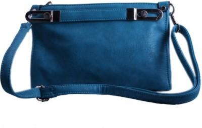 Damit Girls, Women Casual, Evening/Party Blue PU Sling Bag