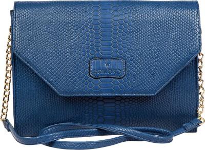 Lomond Women Casual Blue PU Sling Bag