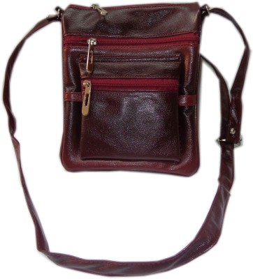 Good Life Stuff Women Casual Brown PU Sling Bag