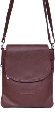 zasmina Girls Maroon PU, Leatherette Sling Bag