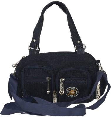 Diamonds World Women Blue PU Sling Bag