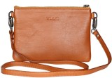 Viari Women Formal Tan Genuine Leather S...