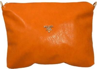 mezzo99 Girls, Women Yellow PU Sling Bag