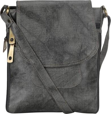 Coash Women Grey PU Sling Bag