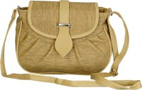 Belladona Women Beige PU Sling Bag