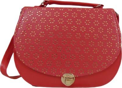 Estoss Women Pink PU Sling Bag