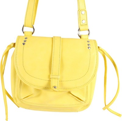 Dooda Casual Yellow  Clutch
