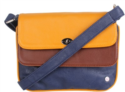 Nyk Women Casual Multicolor PU Sling Bag