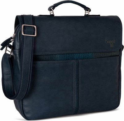 Baggit Men Blue Rexine Sling Bag