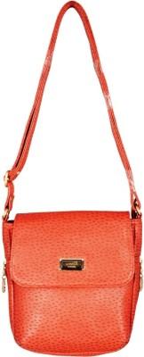 Lizzie Women Pink PU Sling Bag