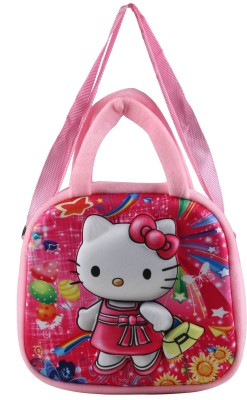 FabSeasons Boys, Girls Casual Pink Cotton Sling Bag