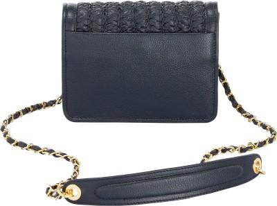 Eske Women Black Genuine Leather Sling Bag