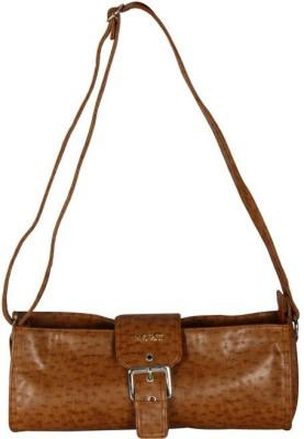 Merci Women Brown PU Sling Bag