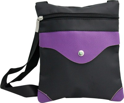 ShoppingFeast Women Purple Flex Sling Bag