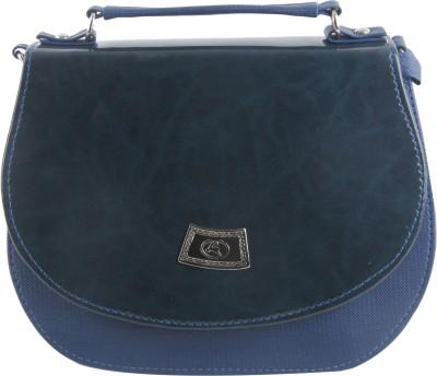 Felicita Girls, Women Casual, Evening/Party Blue PU Sling Bag