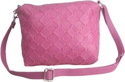 Hangover Girls, Women Casual Pink PU Sling Bag
