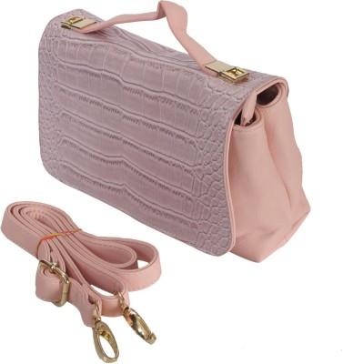 Knighthood Women Pink PU Sling Bag