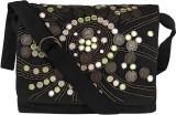Nandeetas Women Black Cotton, Canvas Sli...