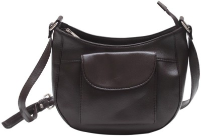 The Parallels Girls, Women Casual, Formal Brown PU Sling Bag