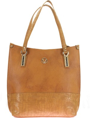 velina Women Brown PU Sling Bag