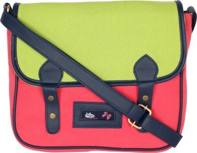 Kanvas Katha Girls, Women Multicolor Canvas Sling Bag