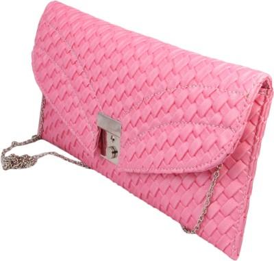 ARMADIO Girls, Women Pink Leatherette Sling Bag