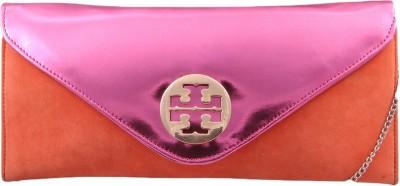 Pinkdivaas Girls Orange Velvet Sling Bag