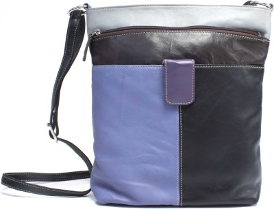 Tee Ess Girls, Women Evening/Party, Casual, Festive Multicolor Genuine Leather Sling Bag