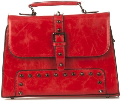 Vero Couture Women Red PU Satchel