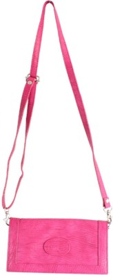 Dooda Casual Pink  Clutch