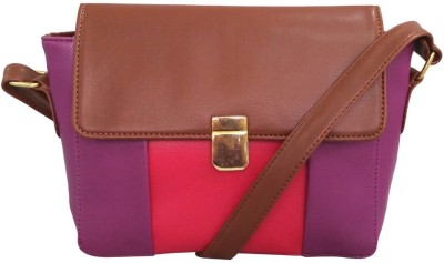 Toteteca Bag Works Women Casual Multicolor Leatherette Sling Bag