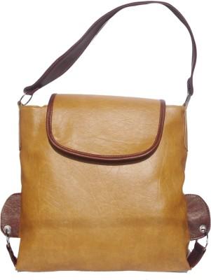 WEEBILL Women Beige PU Shoulder Bag