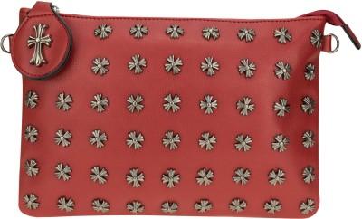 Kaos Girls, Women Red PU Sling Bag