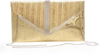 StyleSaga Girls Gold Silk Sling Bag
