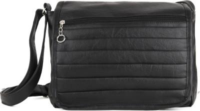 Igypsy Girls, Women Black Leatherette Sling Bag