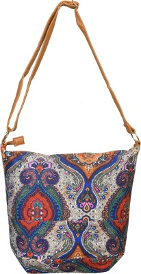 Urban Fashion Co. Girls, Women Multicolor Canvas Sling Bag