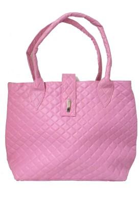 Modish Look Women, Girls Casual Pink PU Shoulder Bag