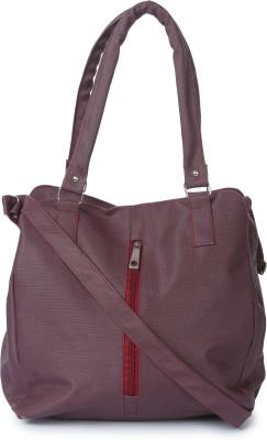 Kaartik24 Girls Casual Purple Leatherette Sling Bag
