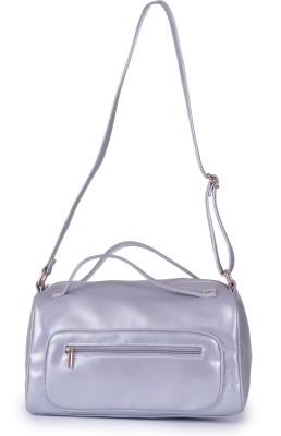MGG Girls, Women Silver PU Sling Bag