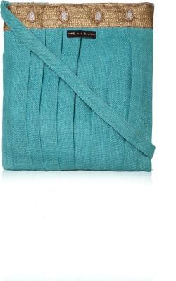 Kosha Women Casual Blue Jute Sling Bag